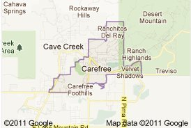 carefree real estate Arizona